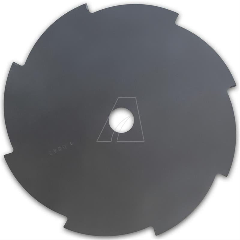 Mähmesser 255 mm, 8 Zahn, ZB Ø 25,4 mm, 1,4 mm Bild 1