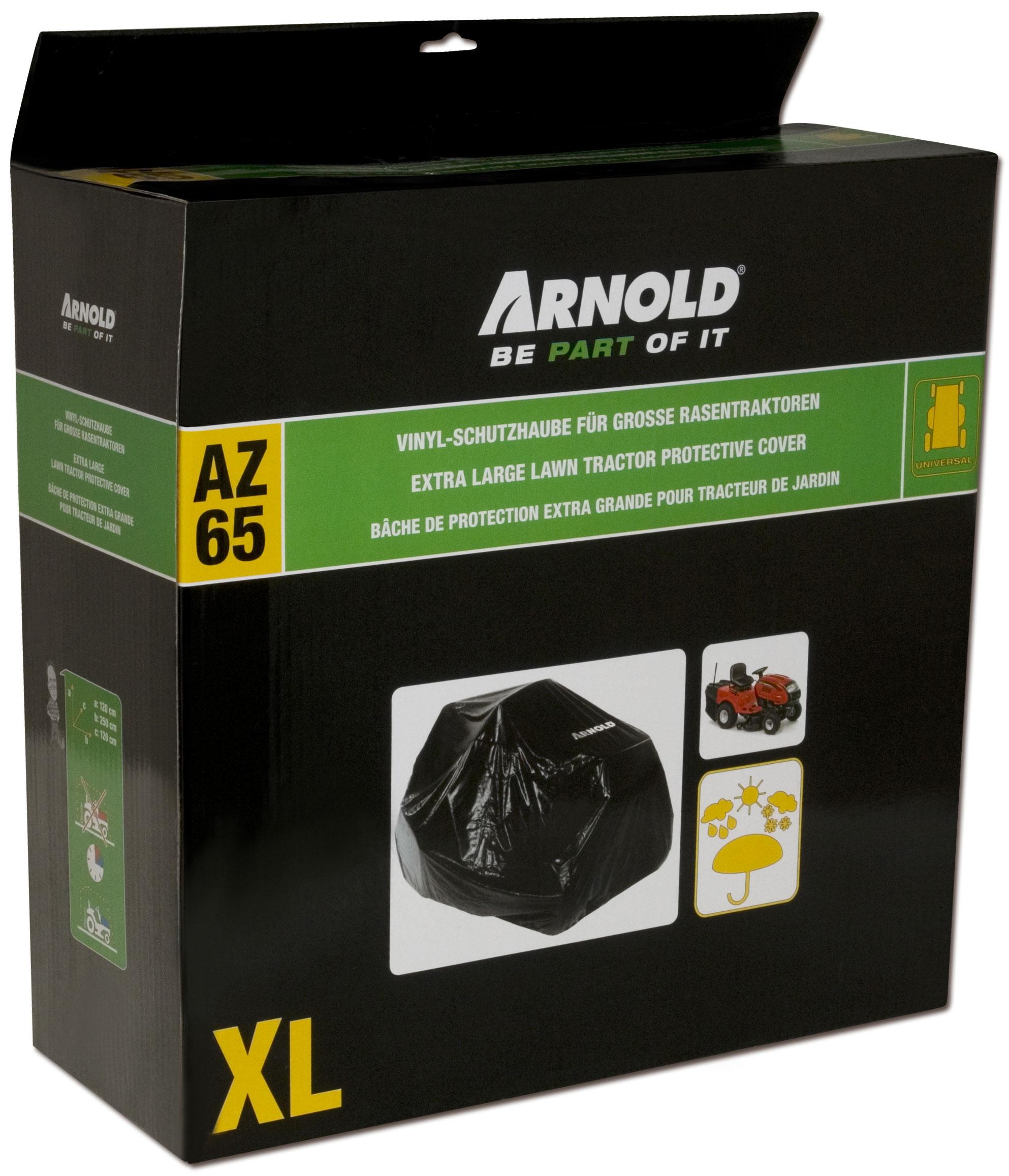 Arnold Abdeckhaube / Schutzhülle MTD für Rasentraktor XL Bild 1