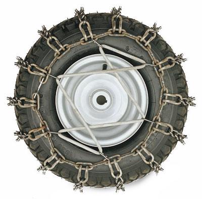 McCulloch Schneeketten 18x8,5 TRO034 für Rasentraktor Bild 1