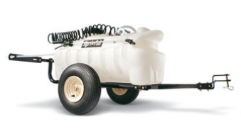 Sprühanhänger für Rasentraktor MTD 95 Liter Bild 1