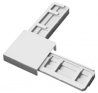 Eckverbinder Set für Fliegengitter System Plus Schellenberg weiß Bild 1