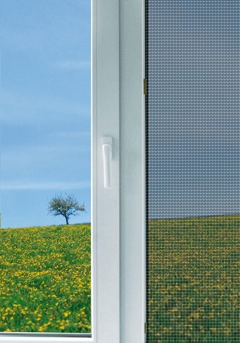 Fliegengitter Maxi für Fenster Schellenberg 150x300cm anthrazit Bild 2