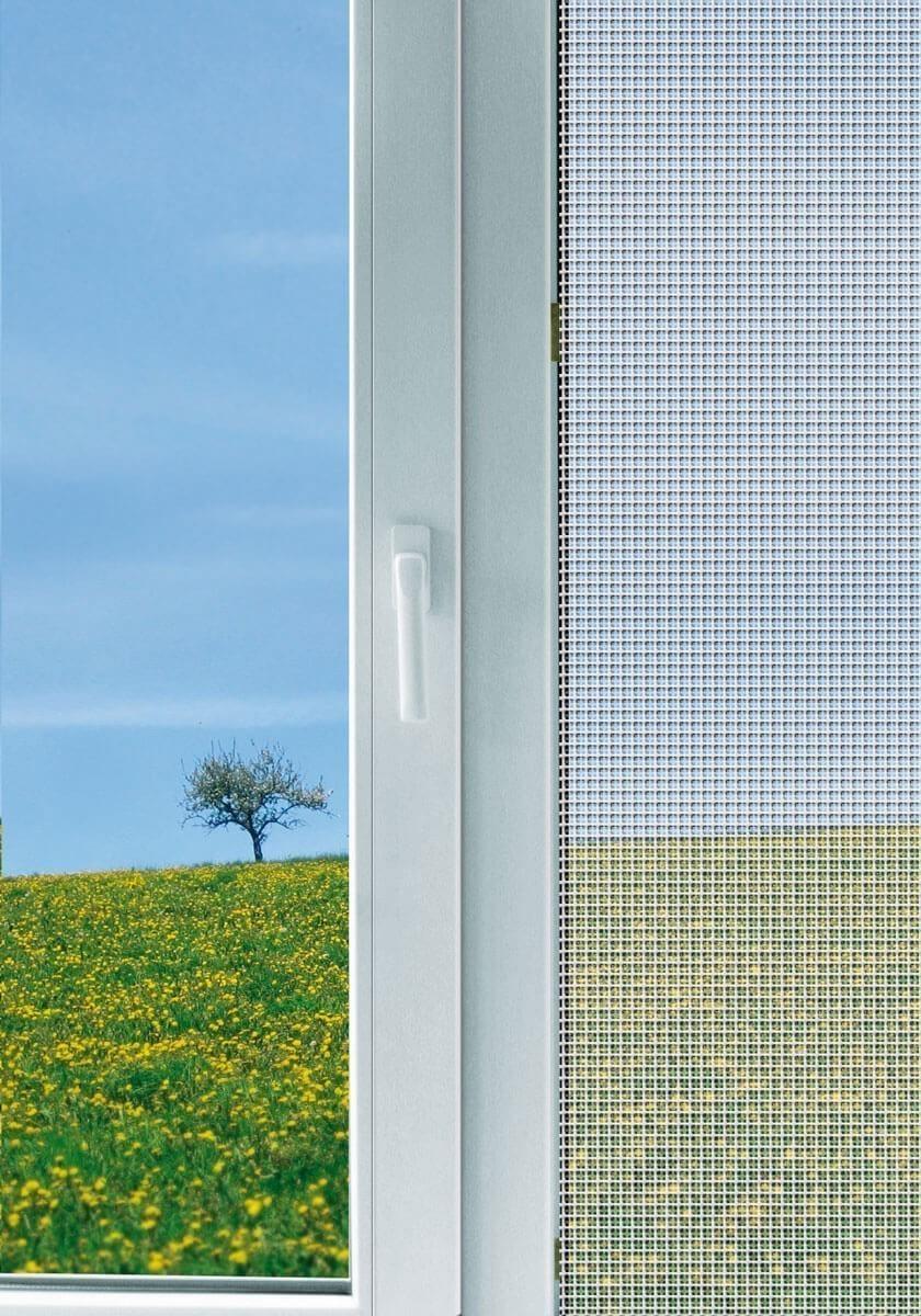 Fliegengitter Maxi für Fenster Schellenberg 150x300cm weiß Bild 2