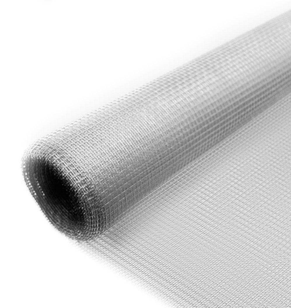 Fliegengitter Minirolle Aluminium Schellenberg 100x120cm natur Bild 1