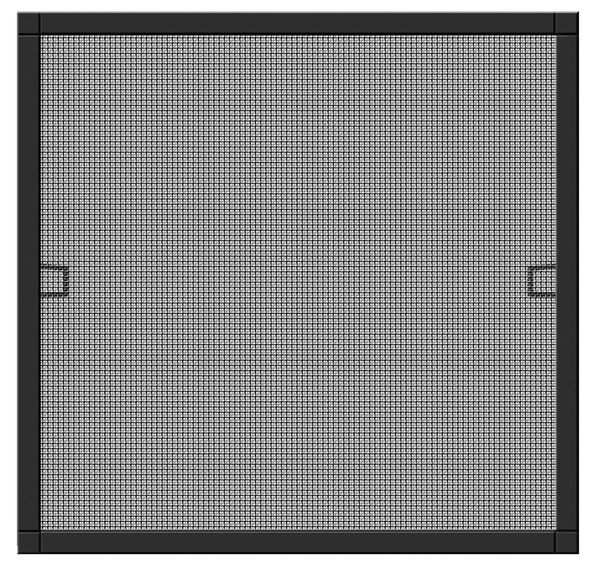 Fliegengitter Plus für Fenster Schellenberg Alu 100x120cm anthrazit Bild 1