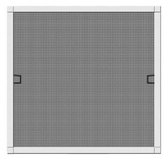 Fliegengitter Plus für Fenster Schellenberg Alu 100x120cm weiß Bild 1