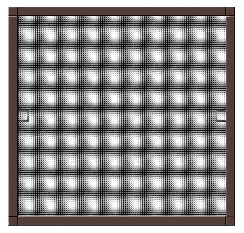 Fliegengitter Plus für Fenster Schellenberg Alu 130x150cm braun Bild 1