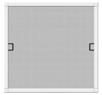 Fliegengitter Premium für Fenster Schellenberg Alu 100x120 weiß Bild 1
