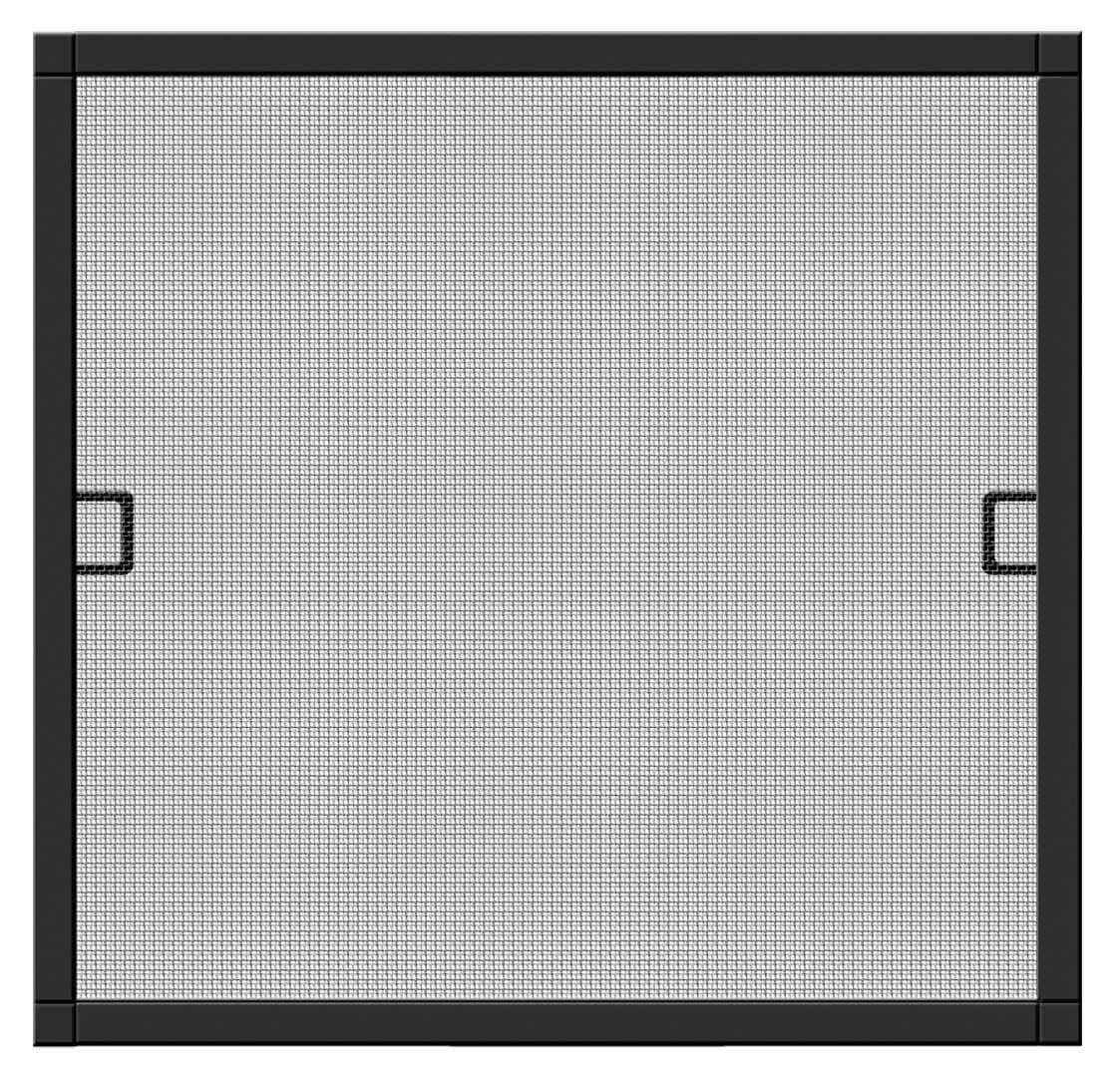 Fliegengitter Premium für Fenster Schellenberg Alu 140x150 anthrazit Bild 1