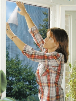 Fliegengitter Reflection für Fenster Schellenberg 130x150cm anthrazit Bild 2