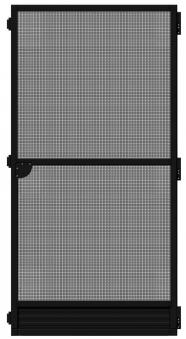 Fliegengitter Tür Plus Schellenberg 100x210cm anthrazit Bild 2