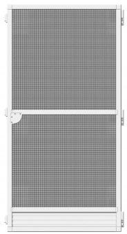 Fliegengitter Tür Plus Schellenberg 100x210cm weiß Bild 2