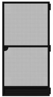 Fliegengitter Tür Premium Schellenberg 100x215cm anthrazit Bild 2