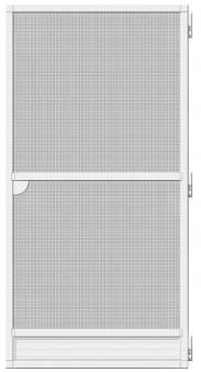 Fliegengitter Tür Premium Schellenberg 100x215cm weiß Bild 2