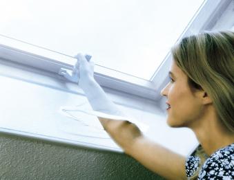 Fliegengitter für Dachfenster Schellenberg 150x180cm weiß Bild 1