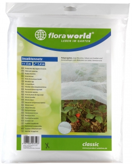 Insekten Schutz Netz classic floraworld 5x1,4m Bild 1