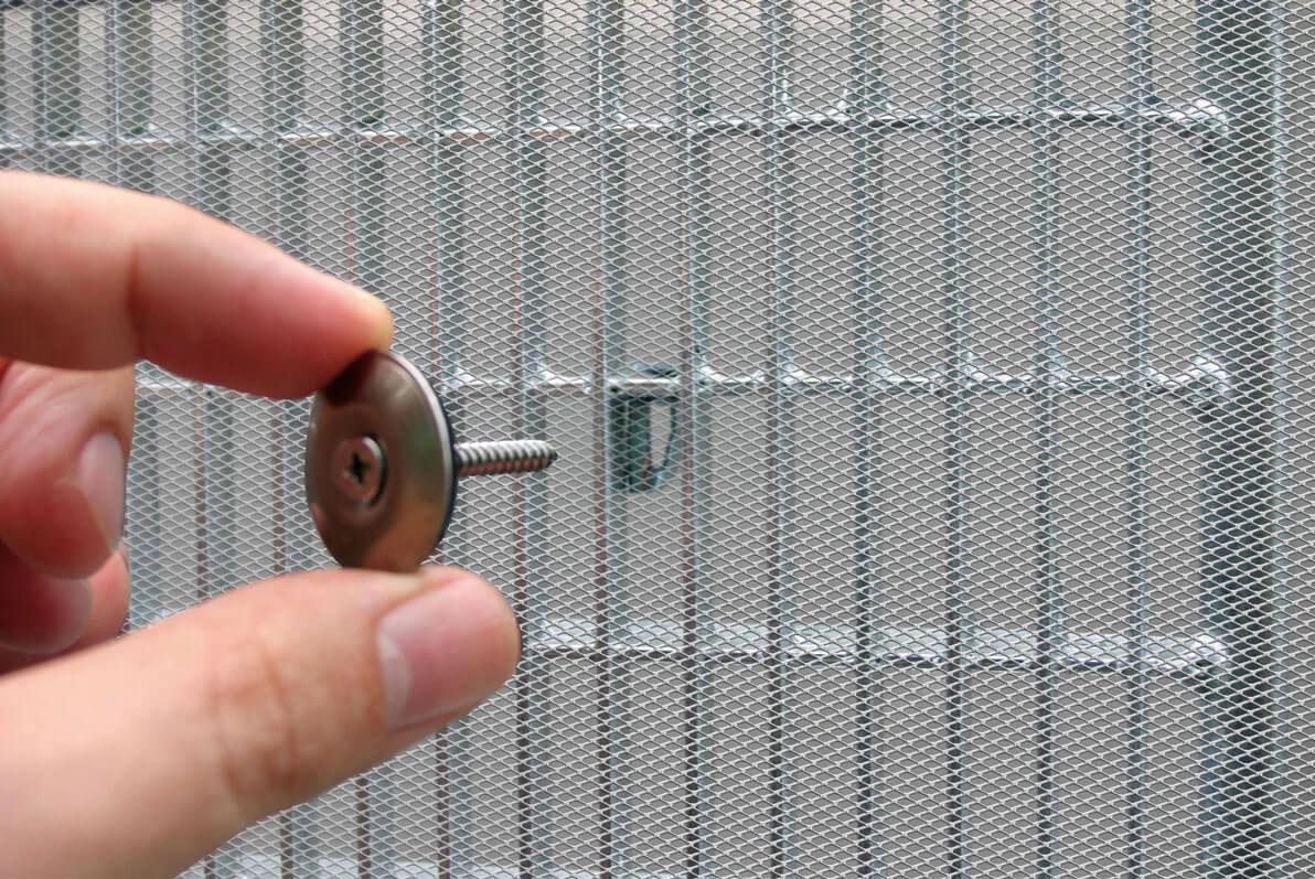 Lichtschachtabdeckung Alu mit Alu Rahmen Schellenberg 55x110cm Bild 3