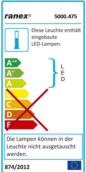 LED Bodeneinbauspot Emma rund Ranex 6-er Set Edelstahl Bild 4