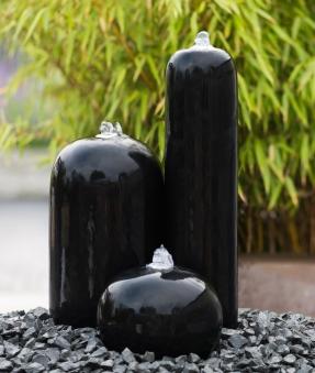 Gartenbrunnen / Springbrunnen Ubbink AcquaArte Arezzo schwarz Bild 1