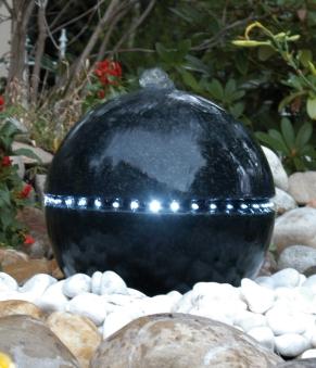 Gartenbrunnen / Springbrunnen Ubbink AcquaArte Dubai schwarz Bild 1