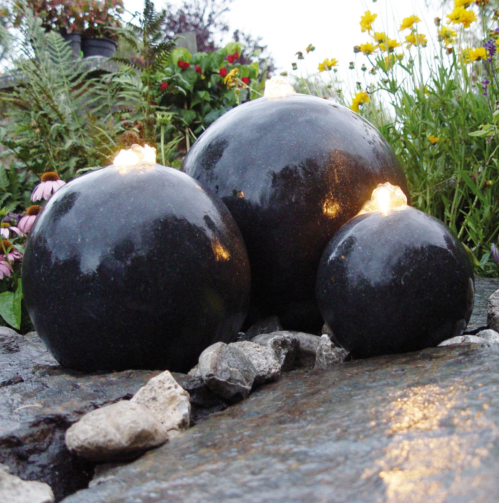 Gartenbrunnen / Springbrunnen Ubbink AcquaArte London anthrazit Bild 1