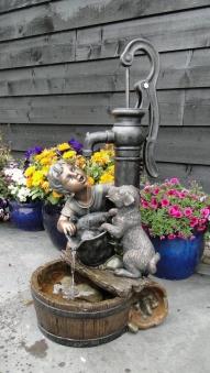 Gartenbrunnen / Springbrunnen Ubbink AcquaArte Regina Bronzeoptik Bild 1