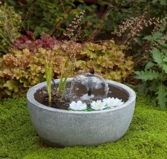 Gartenbrunnen / Springbrunnen Ubbink Miniteichset III Bild 1