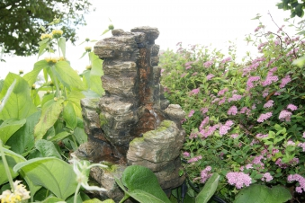 Gartenbrunnen / Springbrunnen Ubbink Wasserfall Chios Bild 1