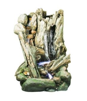 Gartenbrunnen / Springbrunnen Ubbink Wasserfall San Diego Bild 1