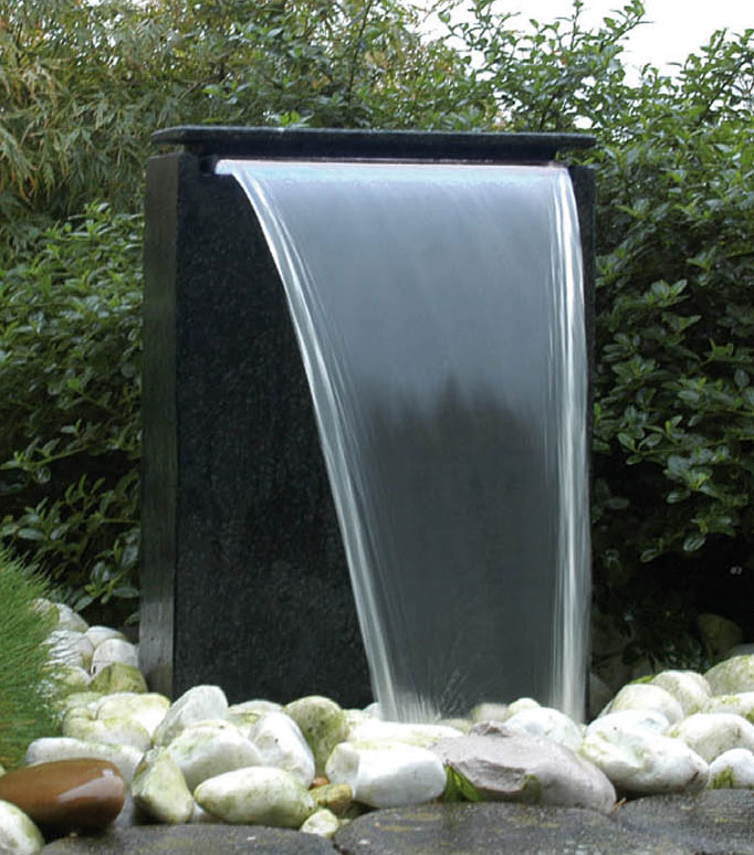 gartenbrunnen wasserfall vicenza ubbink acquaarte. Black Bedroom Furniture Sets. Home Design Ideas