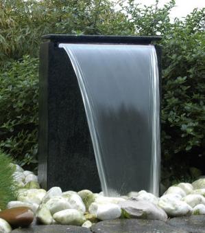 Gartenbrunnen / Wasserfall Ubbink AcquaArte Vicenza schwarz Bild 1