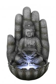 Gartenbrunnen / Wasserspiel / Zimmerbrunnen GardenForma Buddha Calm Bild 1