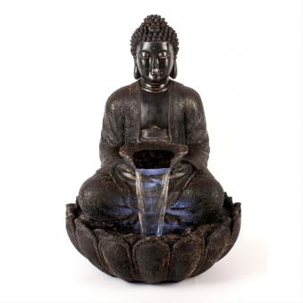 Gartenbrunnen / Wasserspiel / Zimmerbrunnen GardenForma Buddha Silence Bild 1