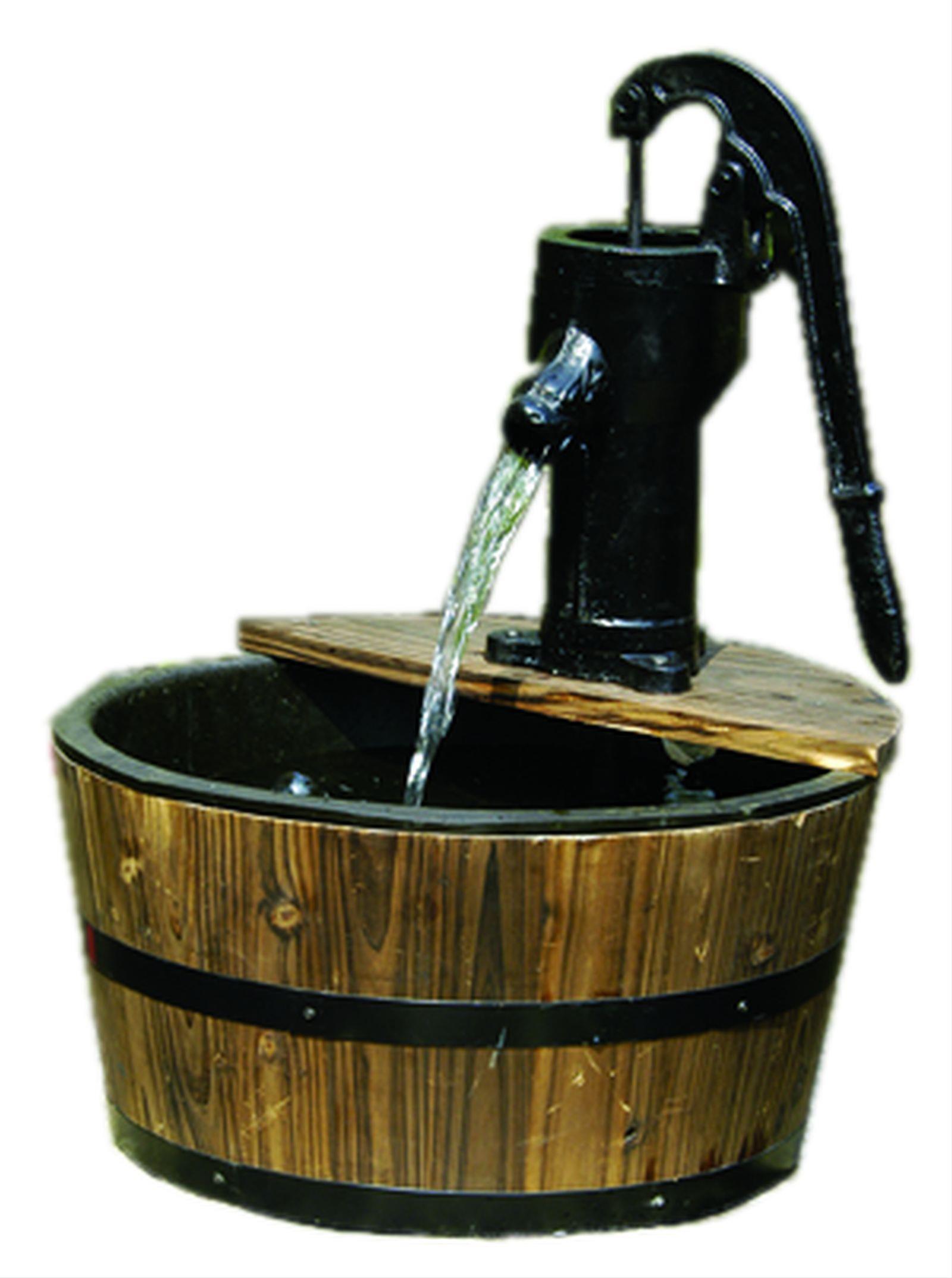 Gartenbrunnen / Wasserspiel / Zimmerbrunnen GardenForma Cork Bild 1
