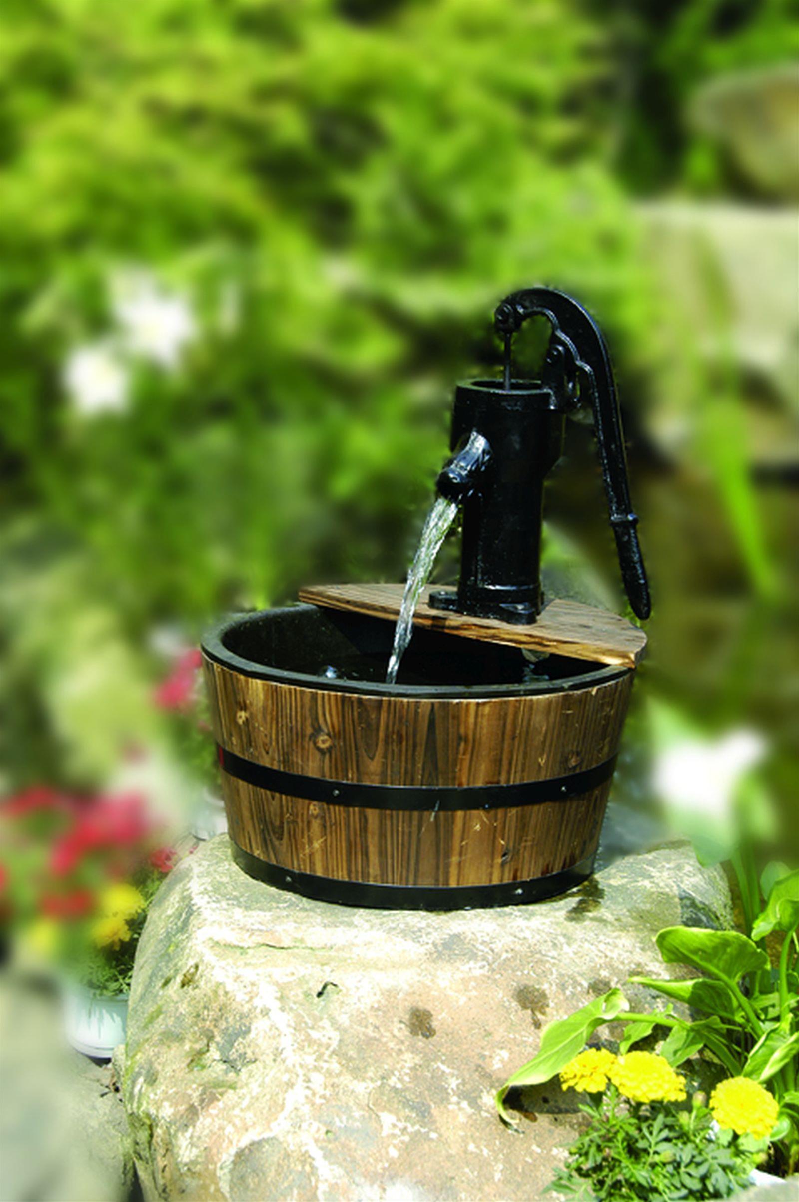 Gartenbrunnen / Wasserspiel / Zimmerbrunnen GardenForma Cork Bild 2