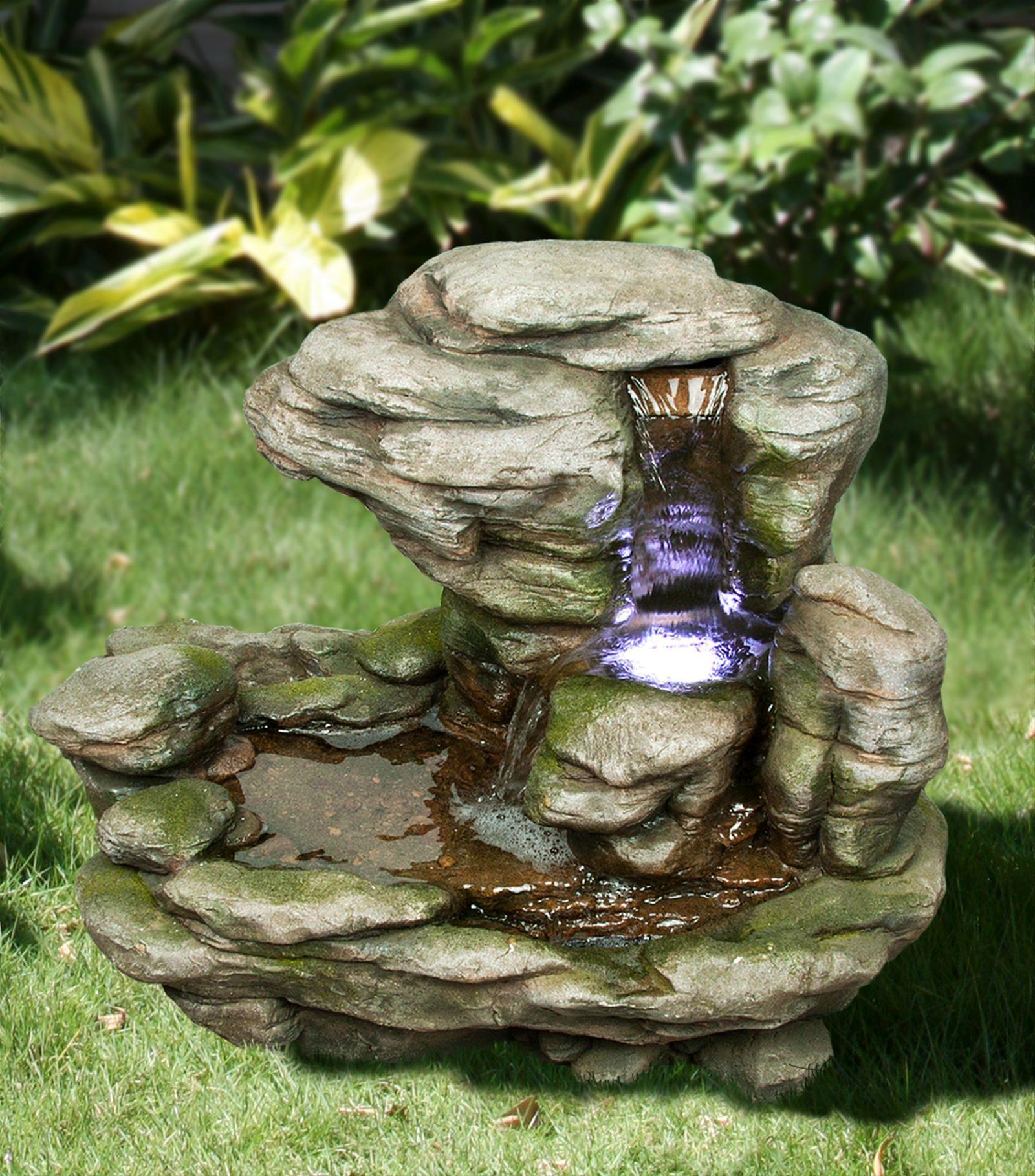 Gartenbrunnen / Wasserspiel / Zimmerbrunnen GardenForma Gokak Bild 3