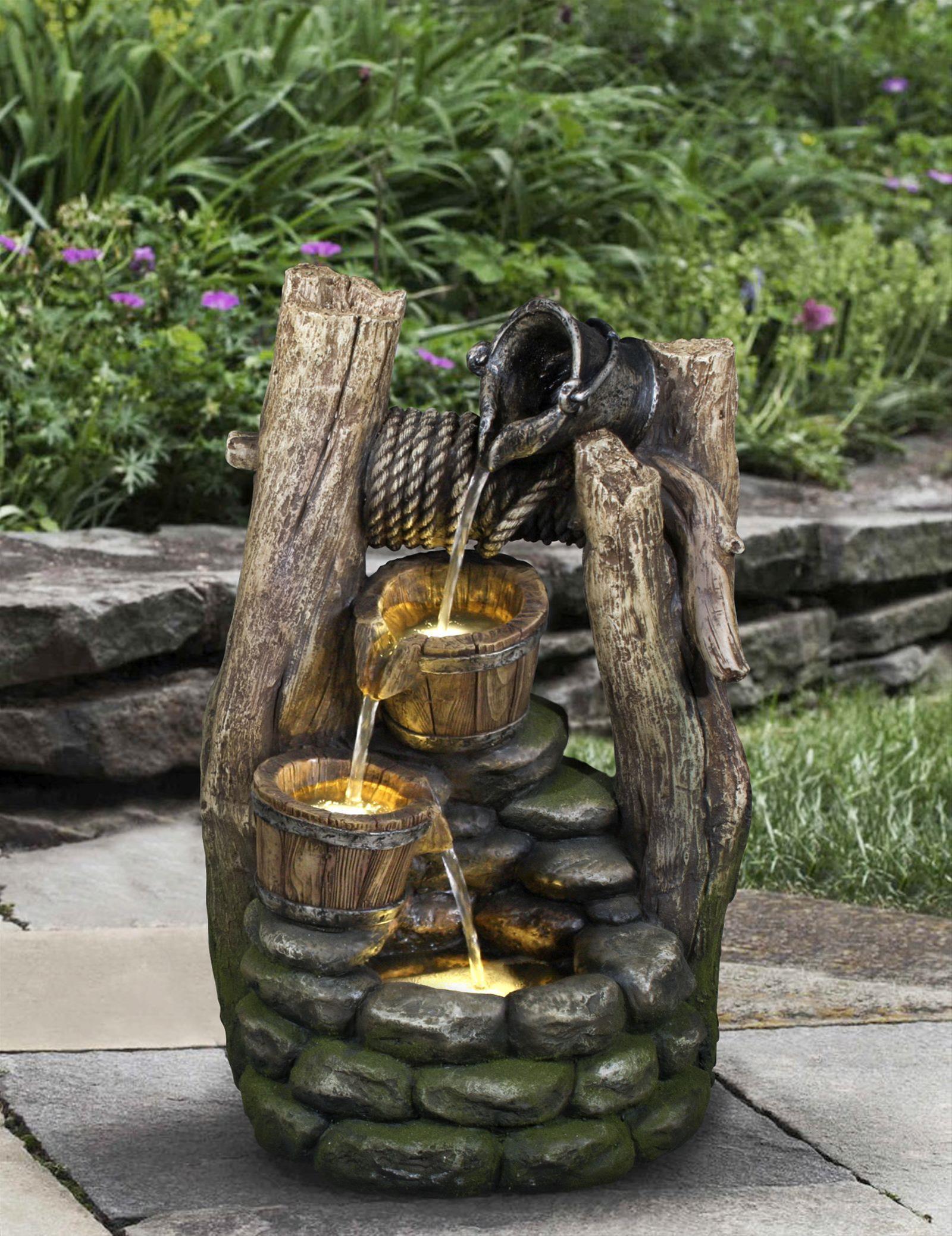 Gartenbrunnen / Wasserspiel / Zimmerbrunnen GardenForma Halifax Bild 3