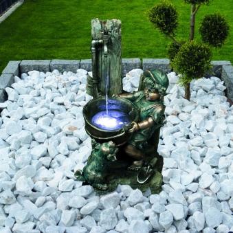 Gartenbrunnen / Wasserspiel / Zimmerbrunnen GardenForma Montreal Bild 2