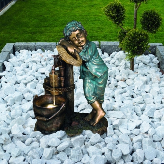 Gartenbrunnen / Wasserspiel / Zimmerbrunnen GardenForma Windsor Bild 2