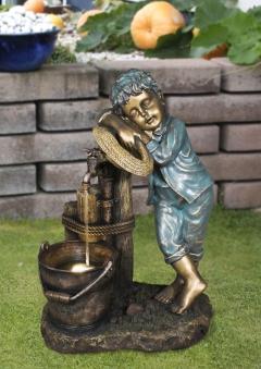 Gartenbrunnen / Wasserspiel / Zimmerbrunnen GardenForma Windsor Bild 3