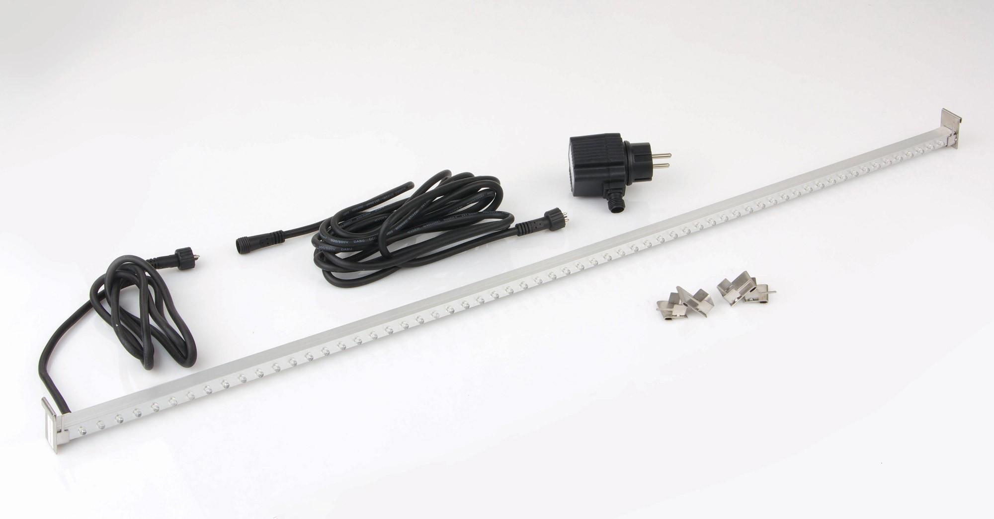 LED-Lichtleiste für Ubbink Wasserfall 62 LEDs weiß L 90cm Bild 1