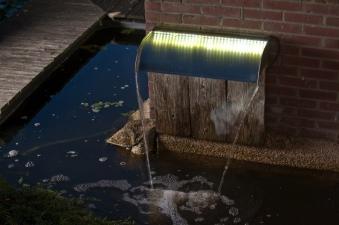 Ubbink Design Wasserfall Set Nevada LED 30cm Edelstahl Bild 2