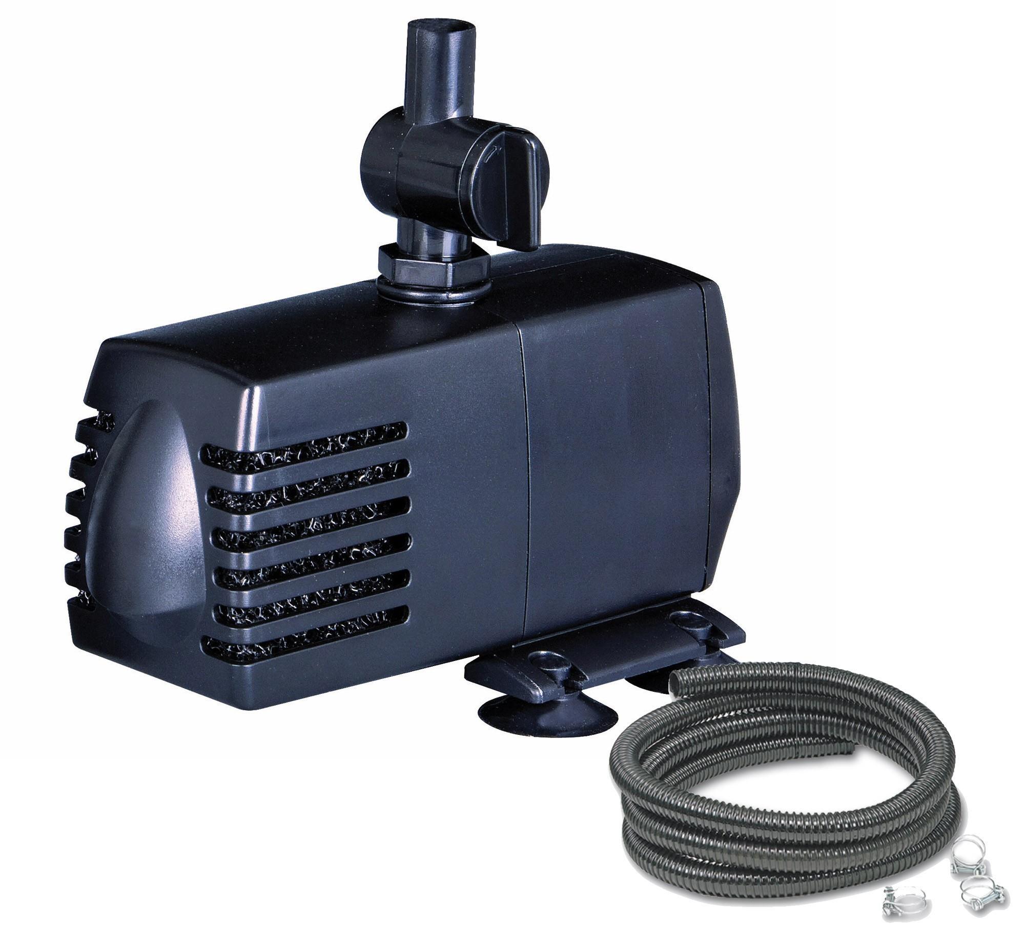 Ubbink Set SoArte  Pumpe 600l + Schlauch für Wasserspeier Bild 1