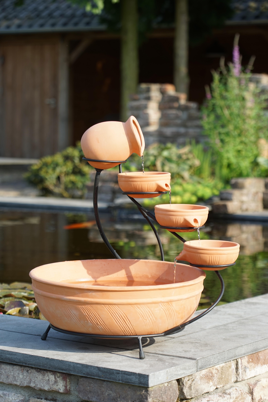 Wasserschalen / Wasserspiel Ubbink Aqua Arte Terracotta Brunnen Large Bild 1
