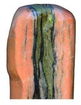 Wasserspiel / Gartenbrunnen GardenForma Findling Red Cloud Marmor Bild 1