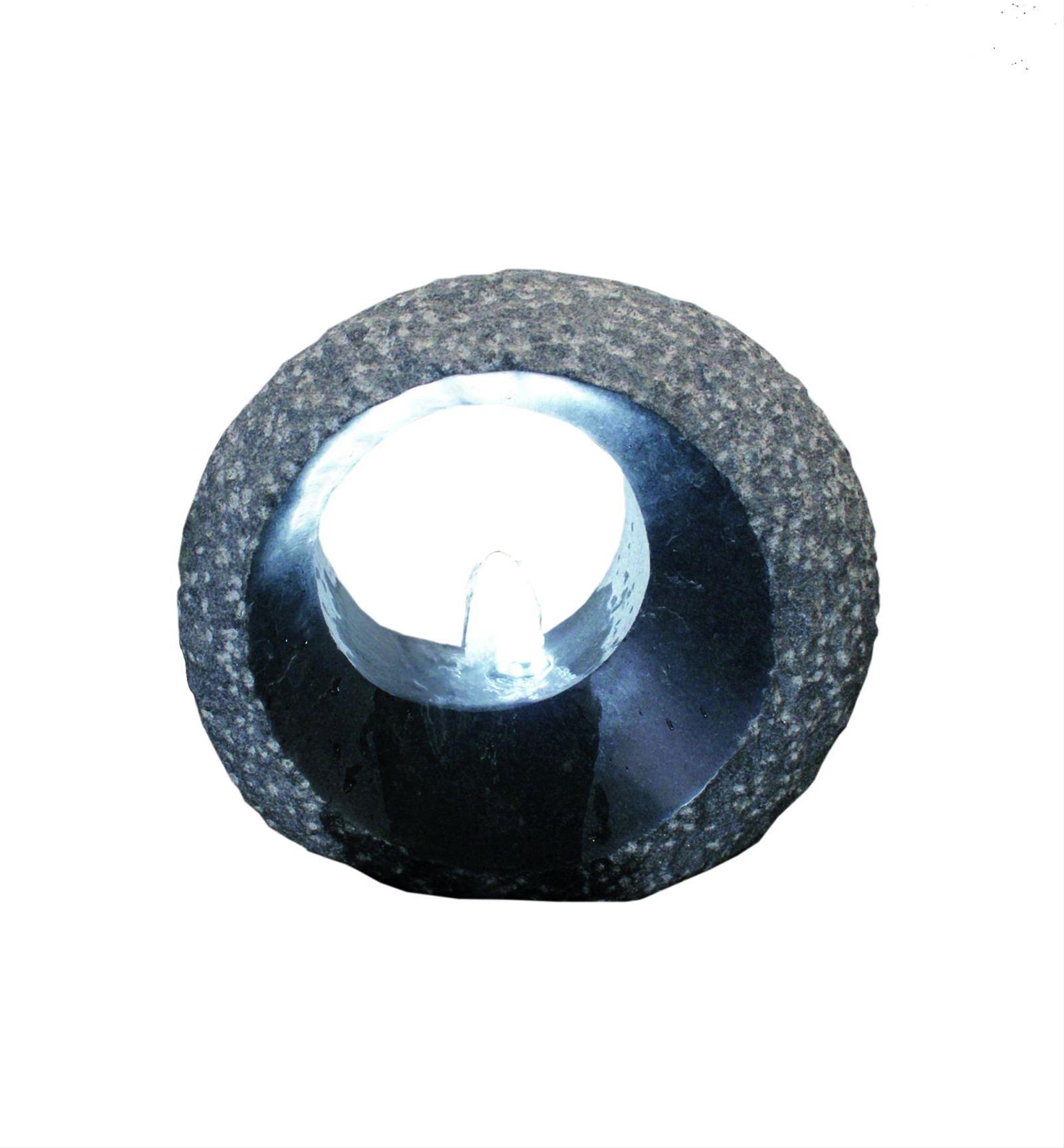 Wasserspiel / Gartenbrunnen GardenForma Grotta Granit dunkelgrau Bild 1