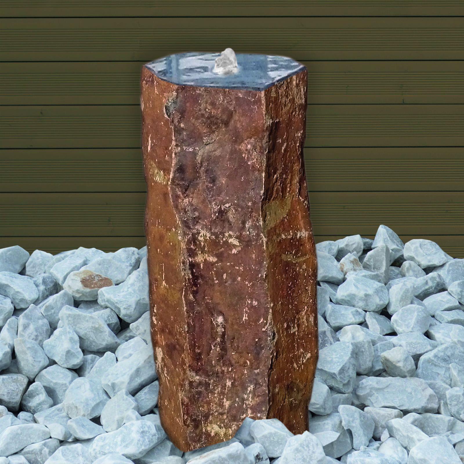 Wasserspiel / Gartenbrunnen GardenForma Houston Basalt 45cm Bild 2