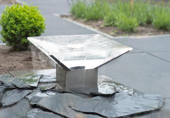 Wasserspiel / Gartenbrunnen Ubbink AcquaArte Lendas Acryl / Edelstahl Bild 1