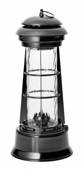 Öl-Lampe Uranus  Boomex Deco schwarz H 30,5cm Bild 1