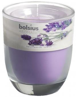Bolsius Duftkerze Aromatic im Glas Französischer Lavendel Bild 1